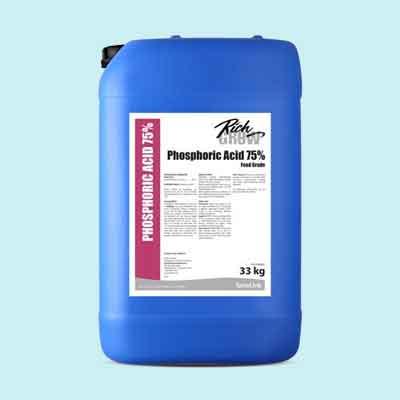 خرید اسید فسفریک خوراکی و صنعتی